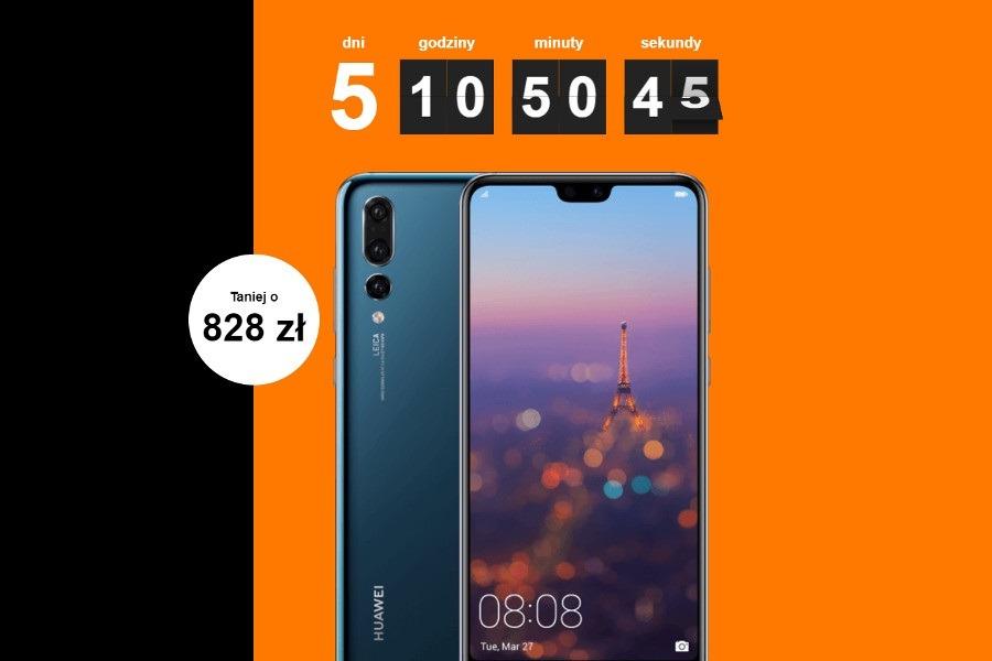 Huawei P20 Pro promocja