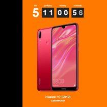 Czerwony Huawei Y7 (2019) tylko na orange.pl