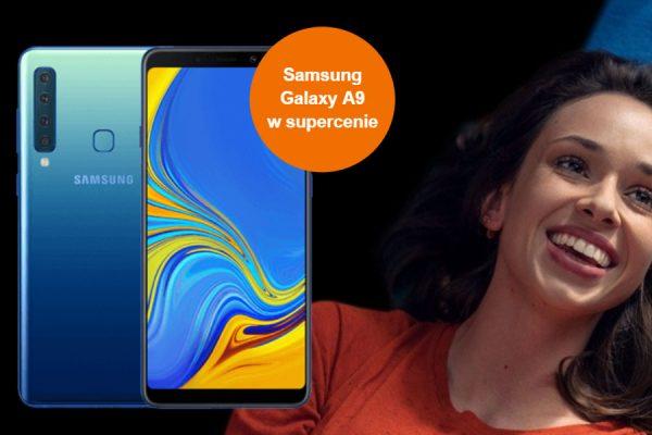 Galaxy A9 abonament Orange