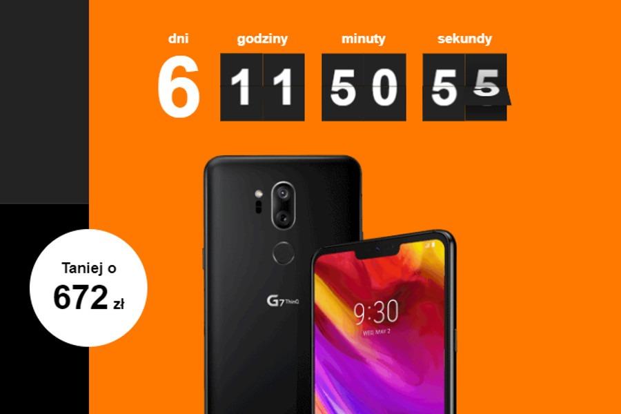 LG G7 ThinQ promocja