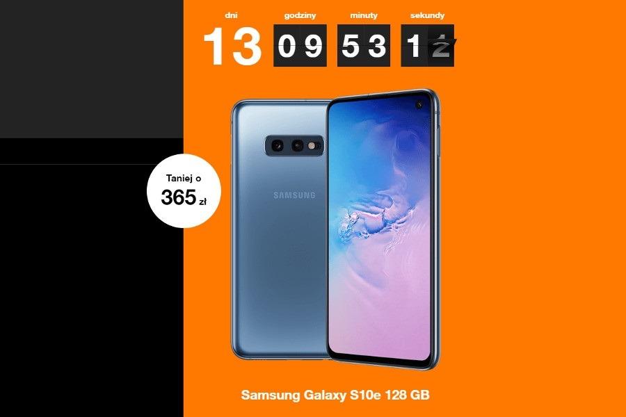 Samsung Galaxy S10e Orange