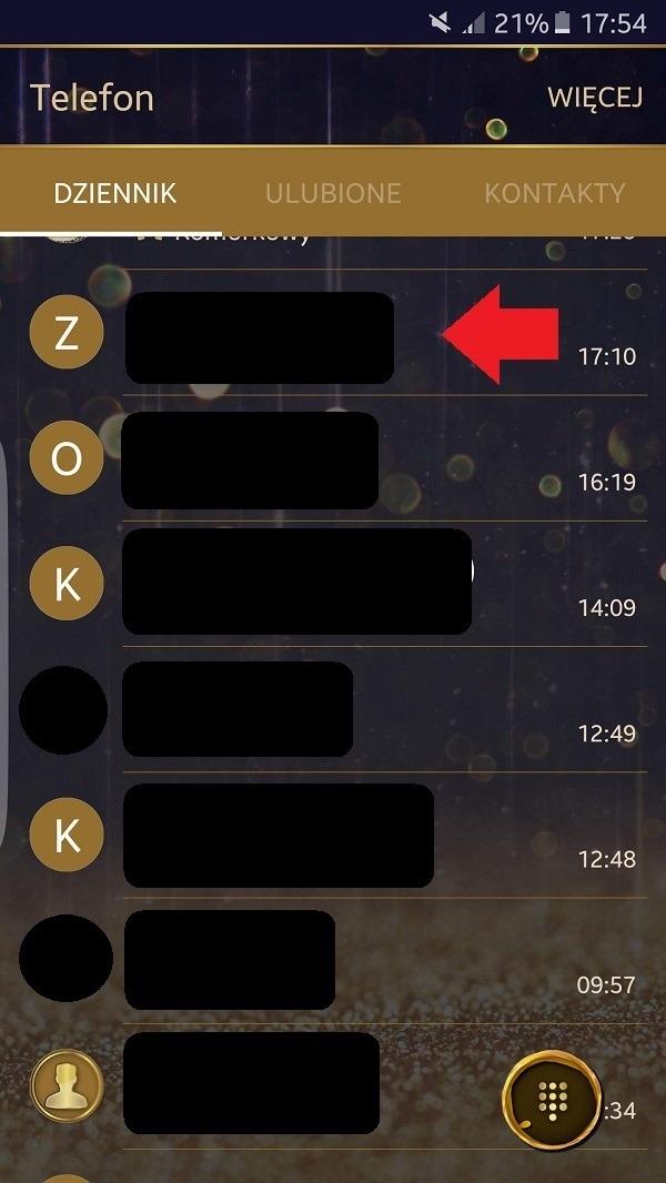Jak zablokować numer?