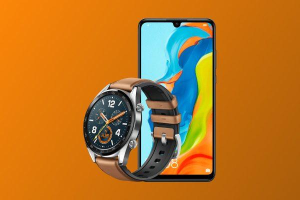 Huawei P30 Lite Huawei Watch GT