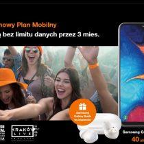 Samsung Galaxy A20e + Galaxy Buds w Orange za 1 zł