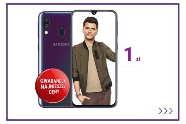 Samsung Galaxy A40 abonament