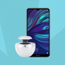 Huawei Y7 (2019) w Plushu + głośnik mobilny