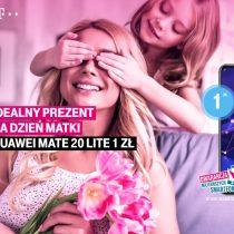 Huawei Mate 20 Lite na Dzień Matki w T-Mobile za 1 zł