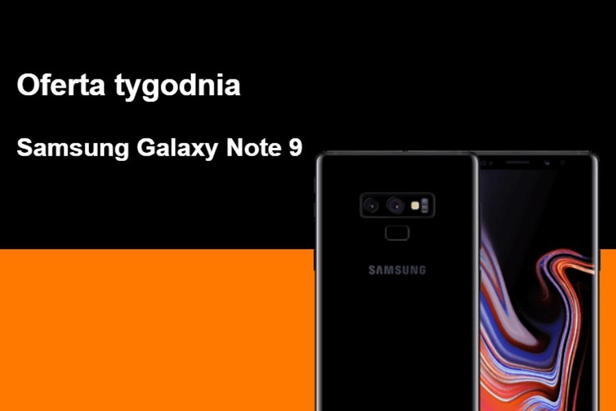 Galaxy Note 9 abonament promocja
