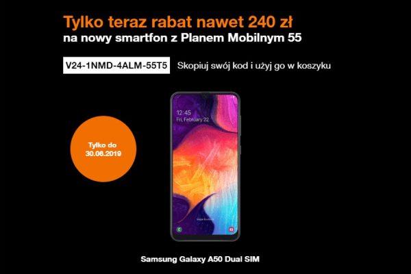 Samsung Galaxy A50 promocja Orange