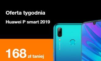 Oferta tygodnia Orange – Huawei P Smart (2019) tańszy o prawie 170 zł