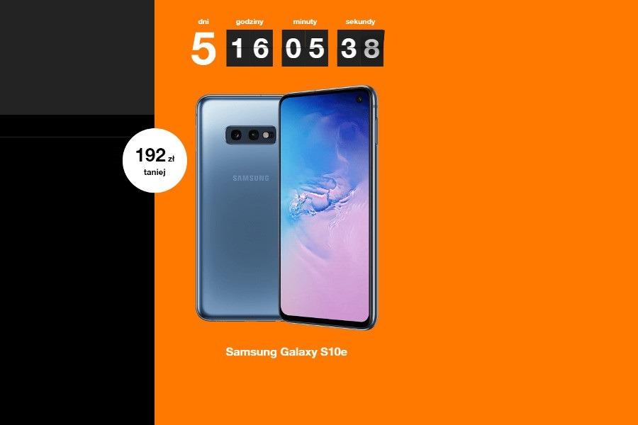 Galaxy S10e promocja