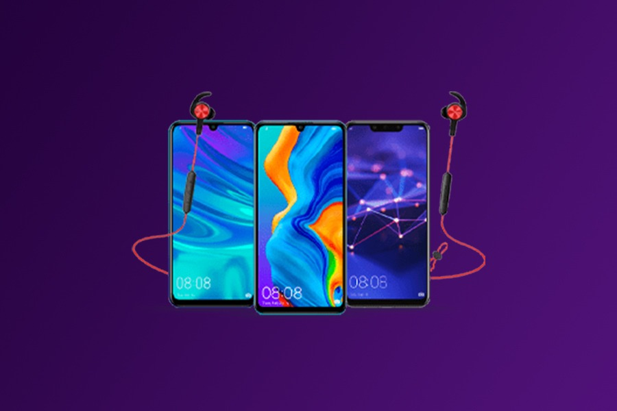 Huawei słuchawki gratis
