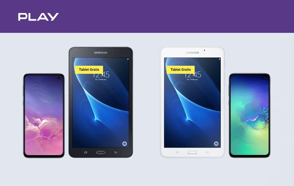 Samsung Galaxy S10e promocja Play