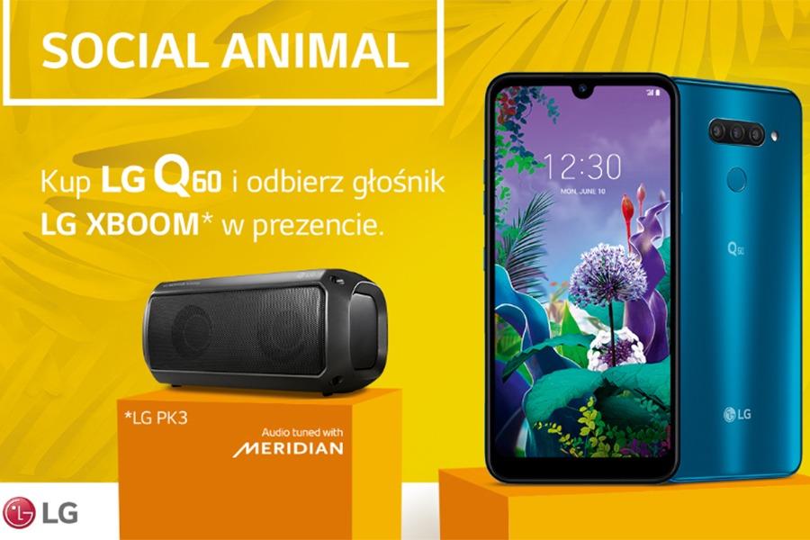 LG Q60 abonament prezent
