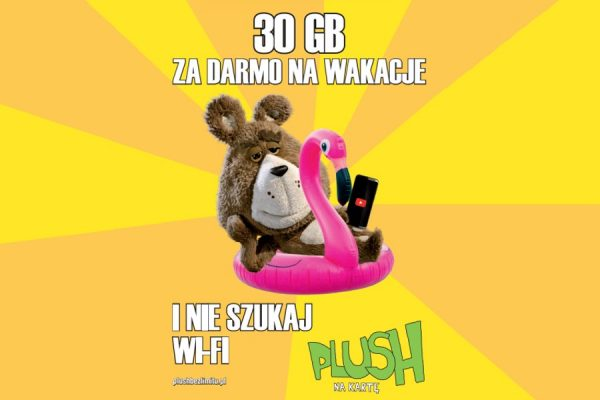 Plush na kartę 3x 10 GB