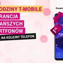 8 lat T-Mobile – tanie smartfony i 100 zł na kolejny telefon