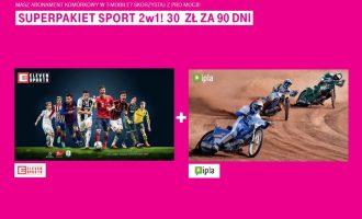 Superpakiet Sport 2w1 za 30 zł w T-Mobile