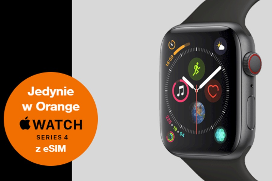 Apple Watch 4 Orange
