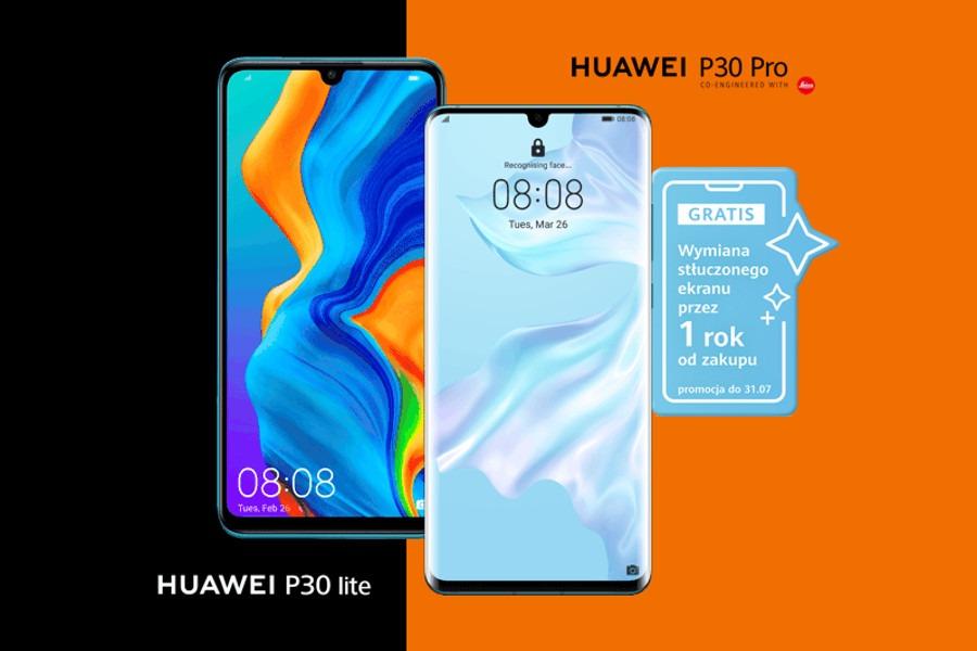 Huawei P30 Orange promocja