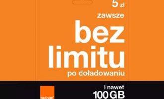 Orange Zawsze bez limitu – nielimitowane MMS-y