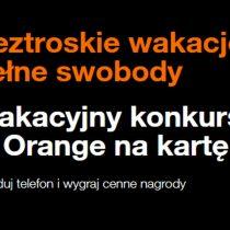 Wakacyjny konkurs Orange – do wygrania m.in. iPhone XS!