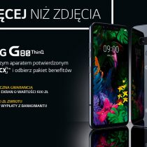 LG G8s ThinQ w Play z bonusami wartymi 1000 zł