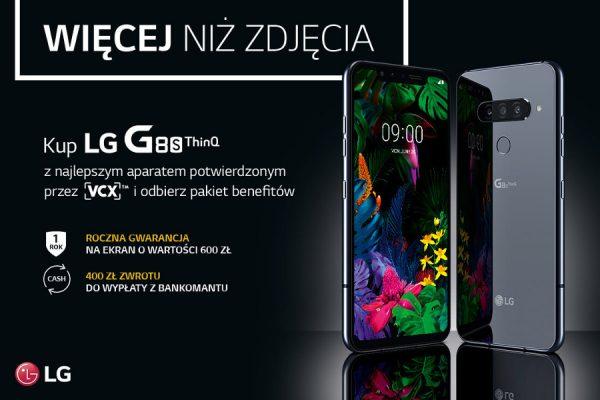 LG G8s ThinQ promocja