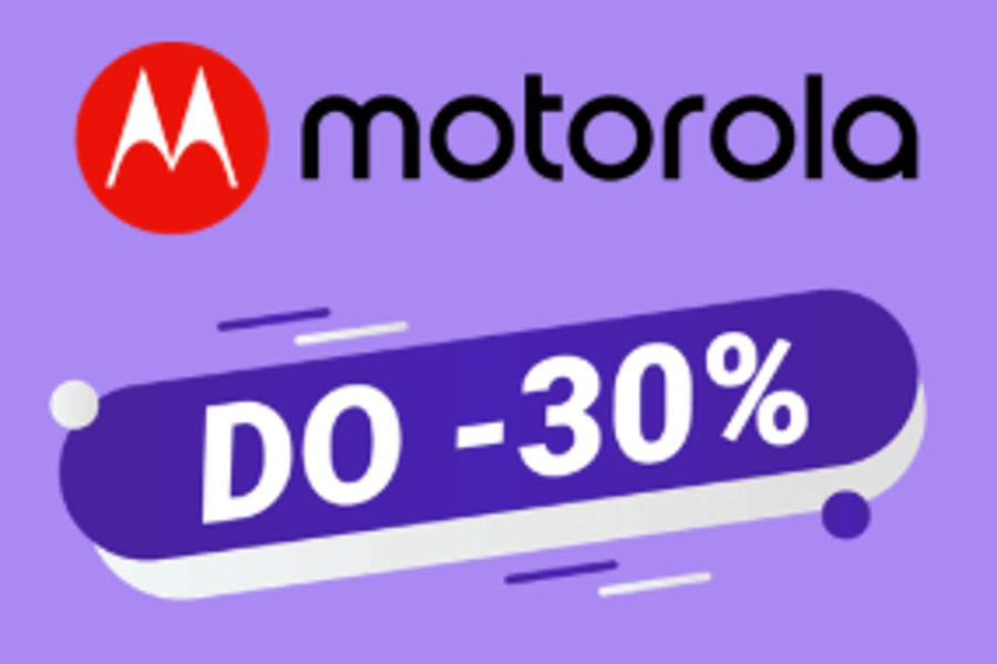Play wyprzedaż -30% Motorola