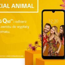 200 zł zwrotu za zakup LG Q60 w Plusie