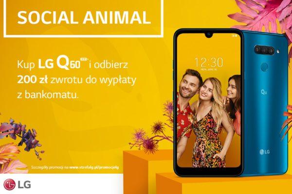Plus LG Q60 promocja