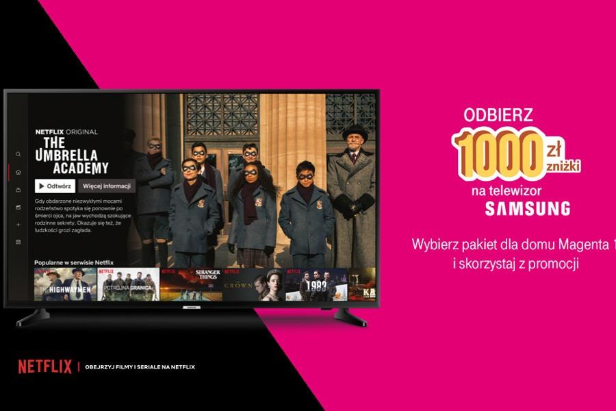 T-Mobile rabat na telewizor Samsunga