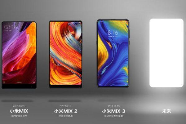 Xiaomi Mi Mix 4 przecieki