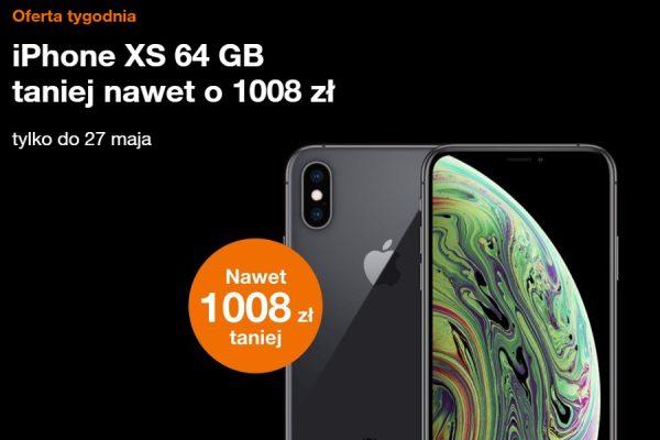 Orange iPhone XS promocja