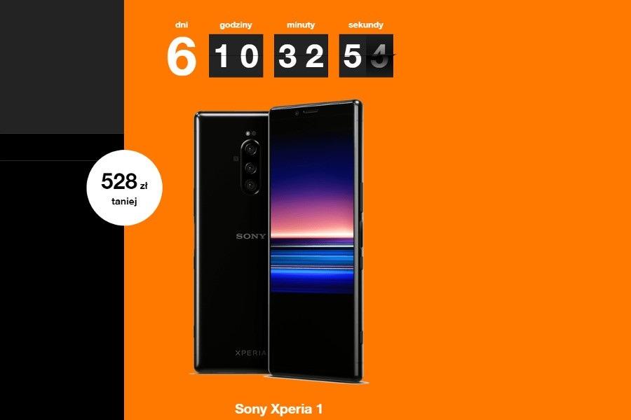 Sony Xperia 1 promocja Orange