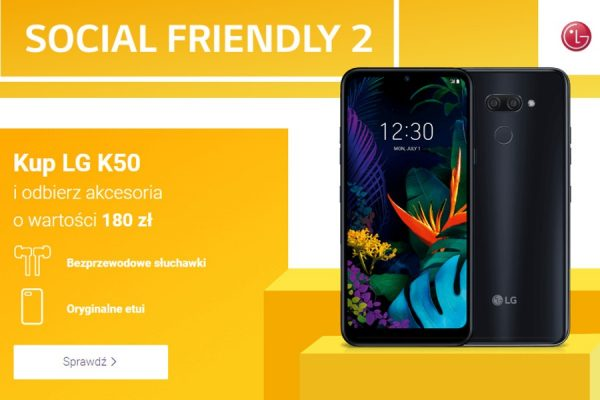 LG K50 promocja Play