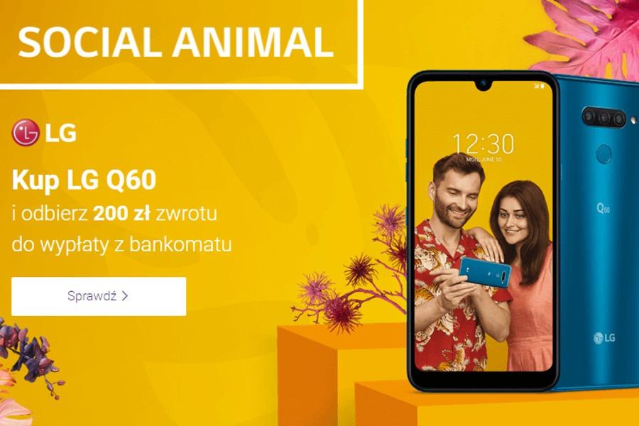 LG Q60 Play promocja