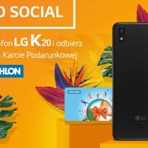 LG K20 w promocji w Plusie za 1 zł
