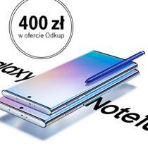 Samsung Galaxy Note 10 – przedsprzedaż u operatorów komórkowych