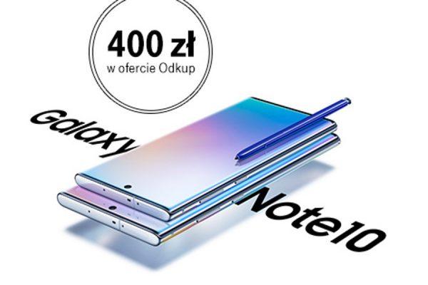 Samsung Galaxy Note 10 abonament