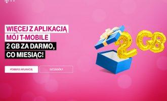 2 GB za darmo z aplikacją T-Mobile