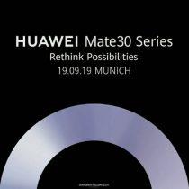 Potwierdzona data premiery Huawei Mate 30