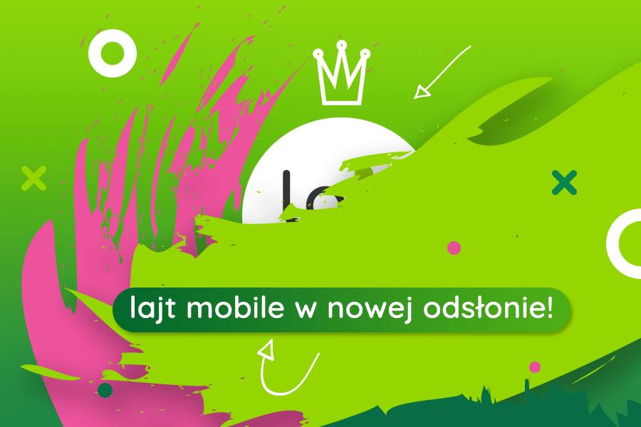 nowy logotyp Lajt Mobile
