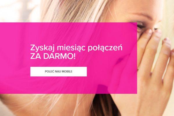 NAU Mobile 1 miesiąc za 0 zł