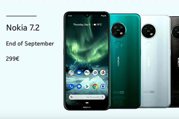 Nokia 7.2 debiut