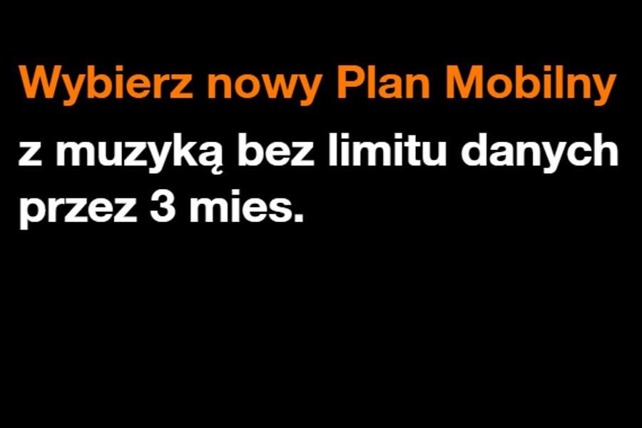 Orange nowy Plan Mobilny