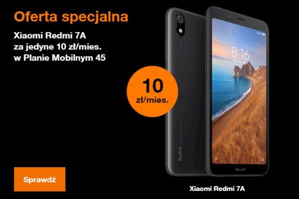 Xiaomi Redmi 7A Orange