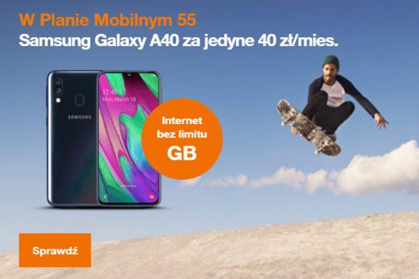 Galaxy A40 abonament