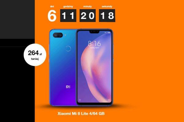 Xiaomi Mi 8 lite telefon tygodnia Orange
