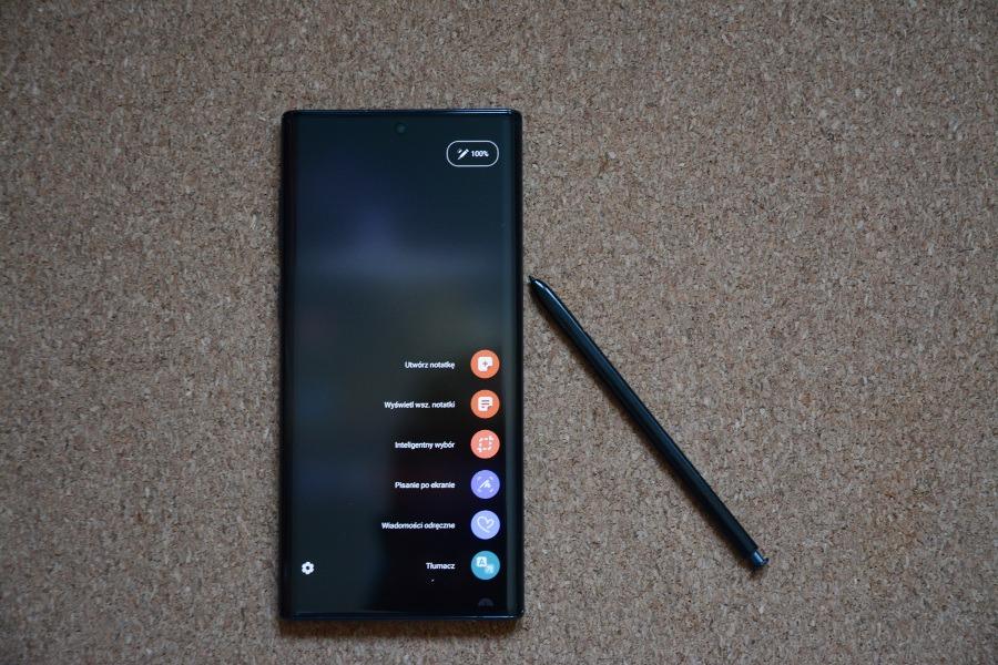 Samsung Galaxy Note10 testowanie