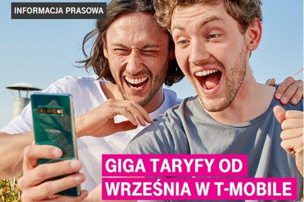 T-Mobile Giga Taryfy 70 GB